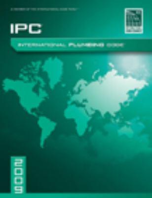 International Plumbing Code 9781580017329