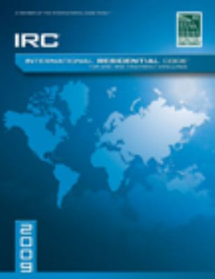 International Residential Code for One-And-Two Family Dwellings 9781580017268