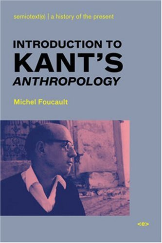 Introduction to Kant's Anthropology 9781584350545