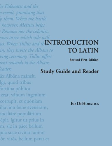 Introduction to Latin: Study Guide and Reader 9781585102839