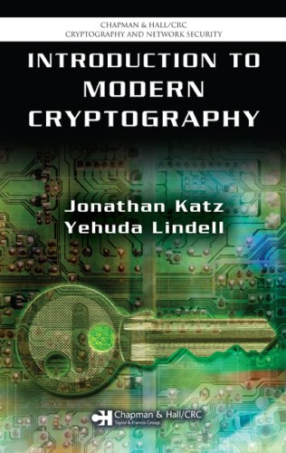 Introduction to Modern Cryptography 9781584885511