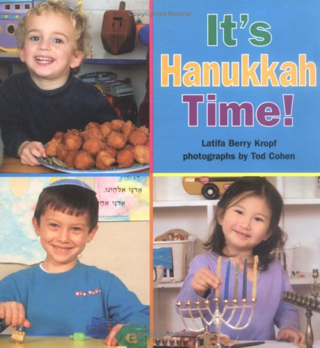 Its Hanukkah Time -Lib 9781580131209