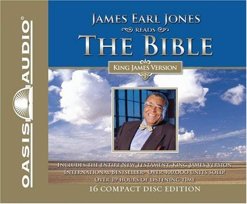 James Earl Jones Reads the Bible-KJV-New Testament 9781589263604