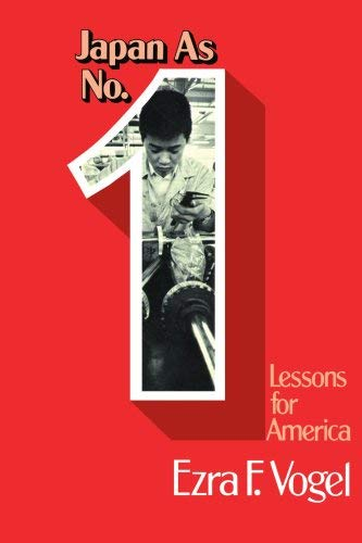 Japan as Number One Lessons for America 9781583484104