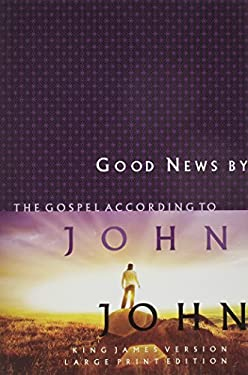 Large Print Gospel of John-KJV