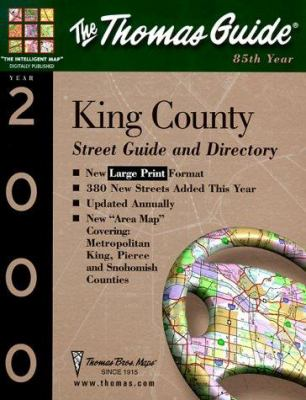 King County Street Guide and Directory: 2000 9781581741179