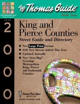 King and Pierce Counties Street Guide and Directory: 2000