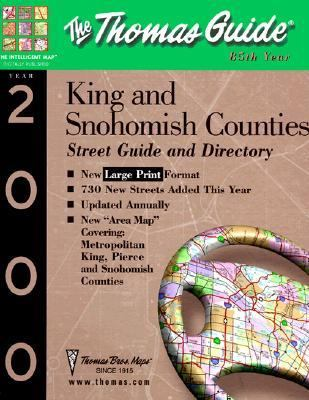 King and Snohomish Counties Street Guide and Directory: 2000