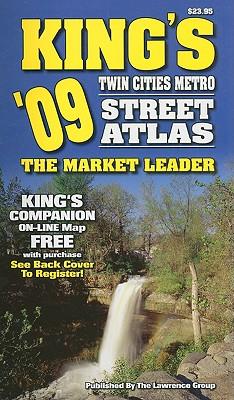 King's Twin Cities Metro Street Atlas 9781583013052