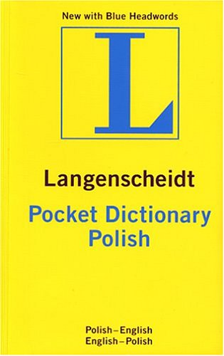 Langenscheidt Pocket Dictionary Polish 9781585734153
