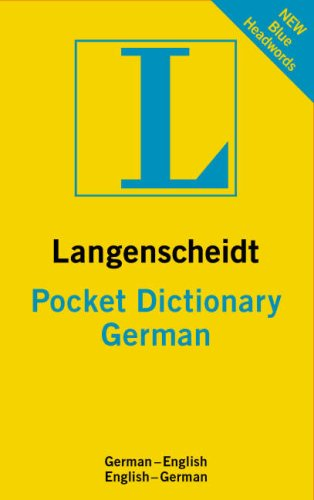 Langenscheidt Pocket German Dictionary: German-English English-German 9781585735938