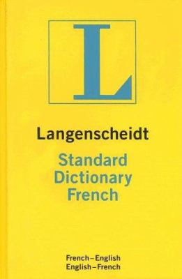 Langenscheidt Standard Dictionary French: French-English/English-French 9781585735013