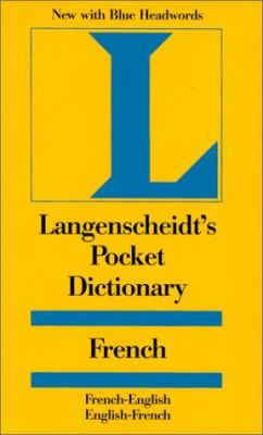 Langenscheidt's Pocket Dictionary French 9781585730513