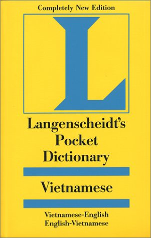 Langenscheidt's Pocket Dictionary Vietnamese 9781585730599
