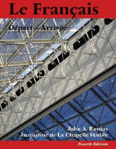 Le Francais: Depart-Arrivee [With CDROM] 9781584655978