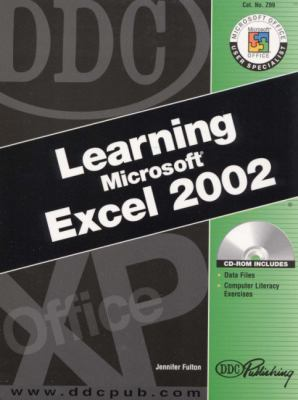 Learning Microsoft Excel 2002 [With CDROM] 9781585771387
