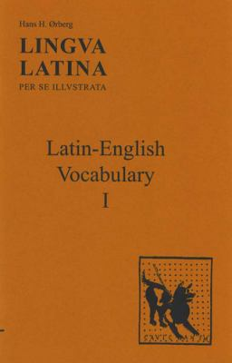 Lingua Latina: Latin-English Vocabulary I 9781585100491