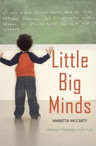 Little Big Minds: Sharing Philosophy with Kids 9781585425150