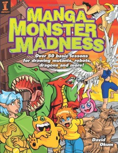 Manga Monster Madness Manga Monster Madness 9781581806069