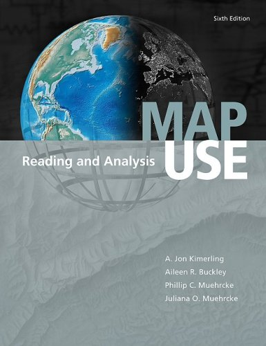 Map Use: Reading and Analysis 9781589481909