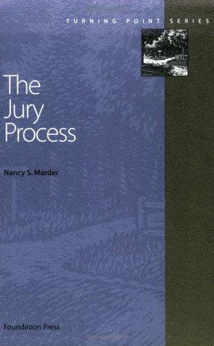 The Jury Process 9781587780219