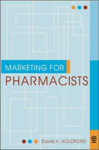Marketing for Pharmacists 9781582120041