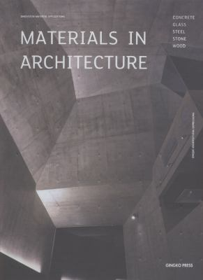 Material in Architecture 9781584234937