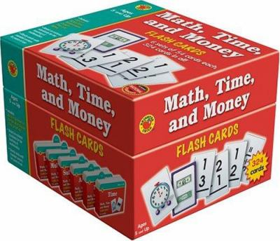 Math, Time, and Money Flash Cards 9781588455666