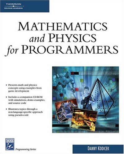 Mathematics and Physics for Programmers 9781584503309