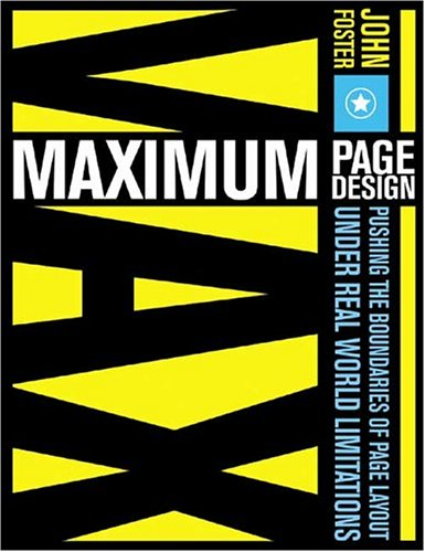 Maximum Page Design Maximum Page Design 9781581805376
