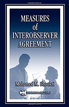 Measures of Interobserver Agreement 9781584883210