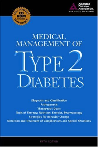 Medical Management of Type 2 Diabetes [With CDROM] 9781580401890