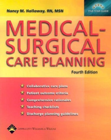 Medical-Surgical Care Planning 9781582552248