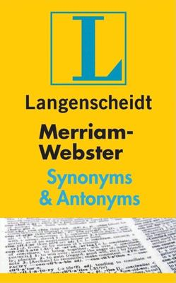 Merriam-Webster Synonyms & Antonyms