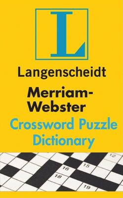 Merriam Webster S Crossword Puzzle Dictionary By