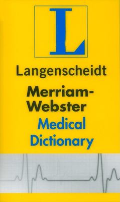 Merriam-Webster's Medical Dictionary 9781585735785