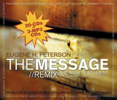 Message Remix New Testament-MS 9781589263062