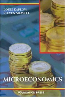 Microeconomics 9781587788161