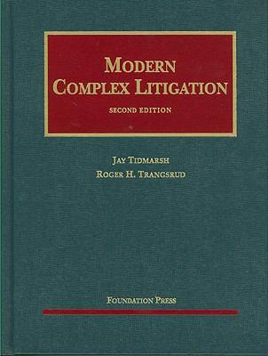 Modern Complex Litigation 9781587785375