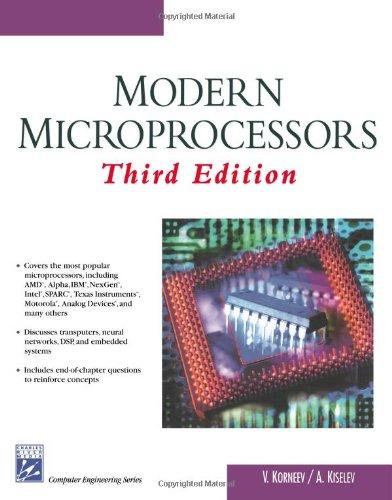 Modern Microprocessors 9781584503682