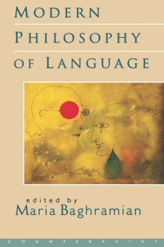 Modern Philosophy Language 9781582430423