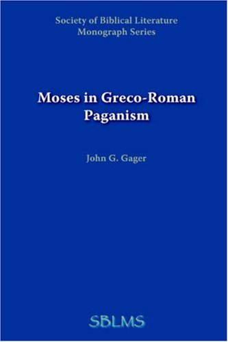 Moses in Greco-Roman Paganism 9781589832169