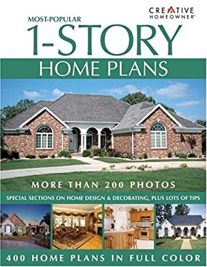 Most-Popular 1-Story Home Plans 9781580111843