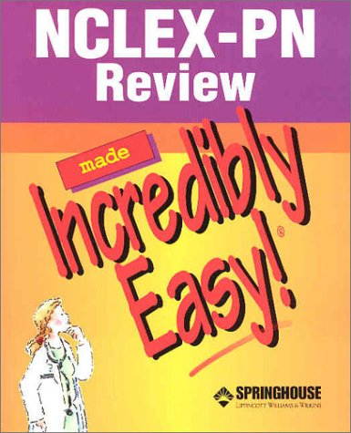NCLEX-PN Review Made Incredibly Easy! [With CDROM] 9781582552354