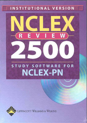 NCLEX Review 2500 Study Software for NCLEX-PN Institutional