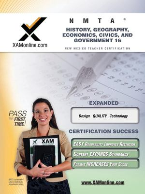 Nmta History, Geography, Economics, Civics, and Government 16 Teacher Certification Test Prep Study Guide 9781581977622
