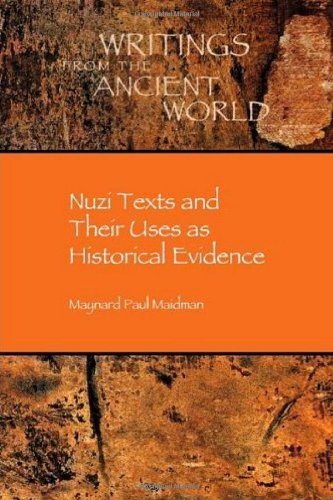 Nuzi Texts and Their Uses as Historical Evidence 9781589832138
