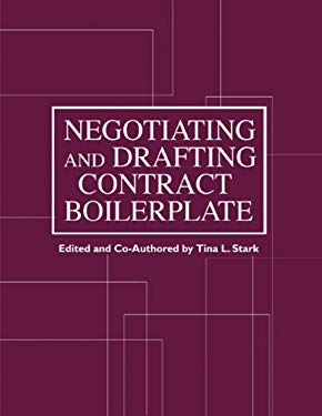 Negotiating and Drafting Contract Boilerplate [With CDROM and CD] 9781588521057