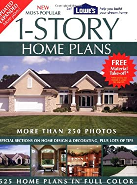 New Most-Popular 1-Story Home Plans 9781580113373