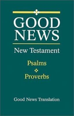 New Testament Psalms Proverbs-GNV 9781585160334